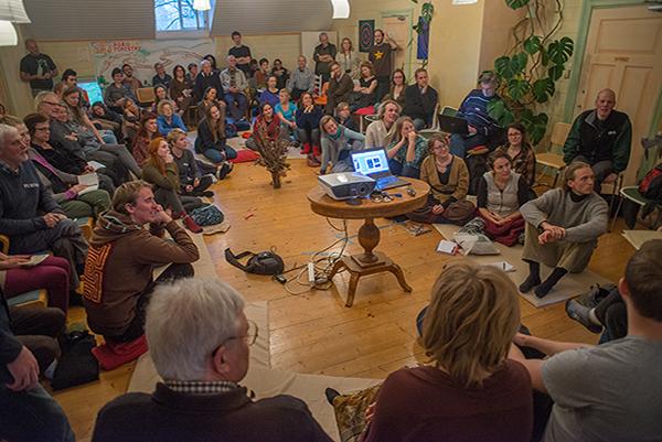 Ett 70-tal deltagare från Sverige, Finland och Danmark var med på Agroforestryträffen i Stjärnsund